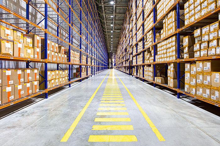 Beam angles in Warehouse