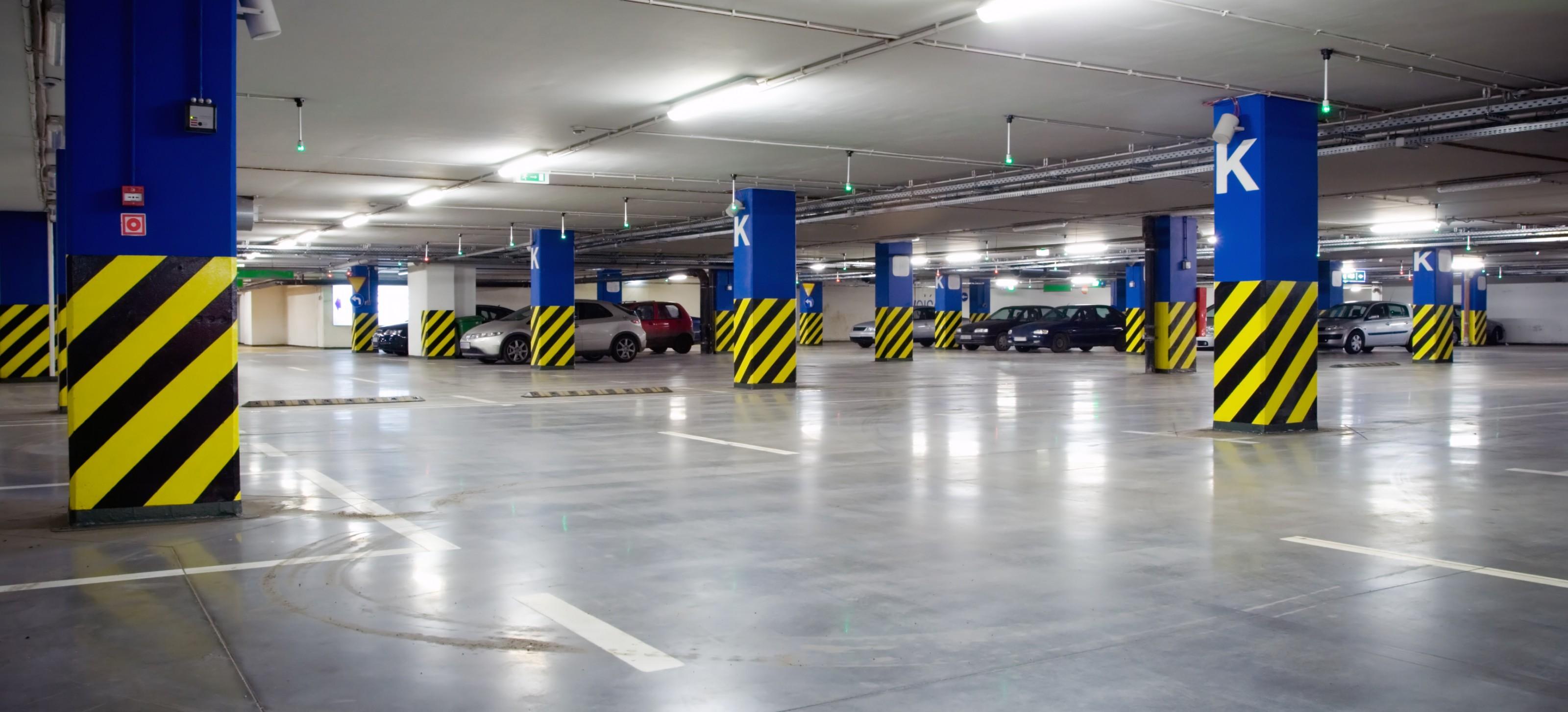 parking deck canopy lighting