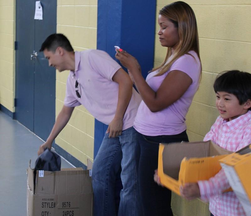 Community Service at Boys & club of America