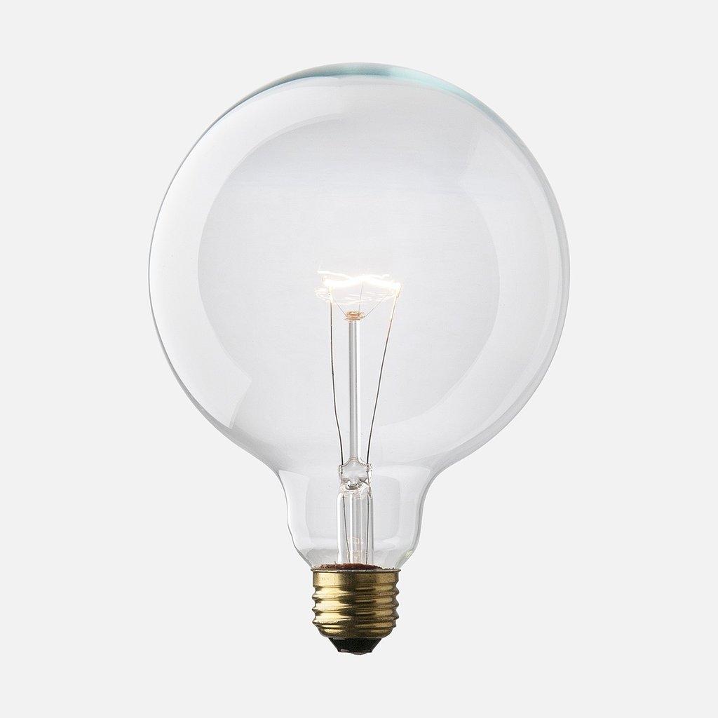 Globe shaped bulb