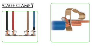 cage clamp and cage clamp S