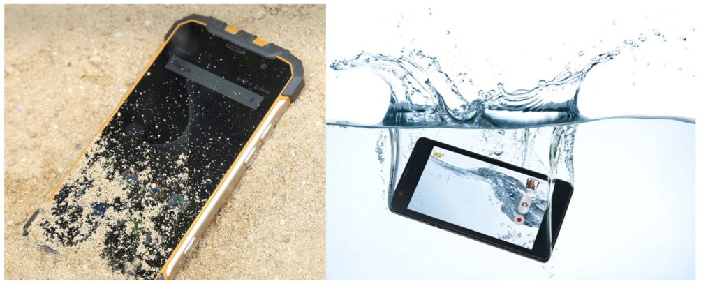 dust proof and waterproof electrical devices