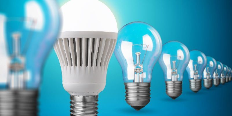 electrical components of LED light bulbs