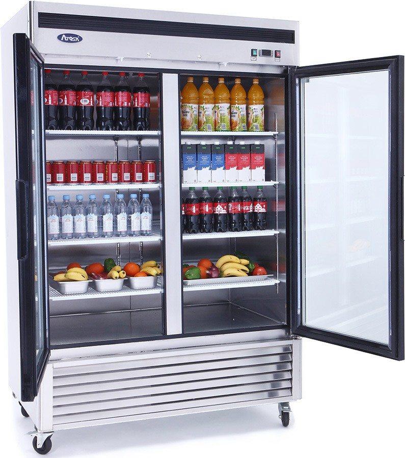 swinging door commercial refrigerator