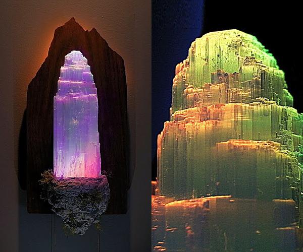 DIY floating crystal island