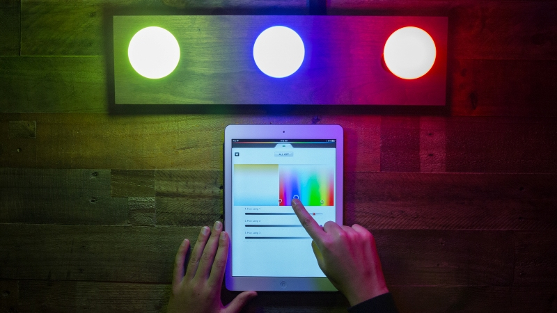 color changing smart lighting