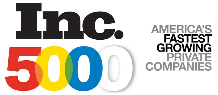 Inc 500 List for fastest growing companies in America