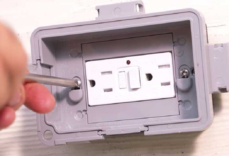 outdoor gfci outlet installation