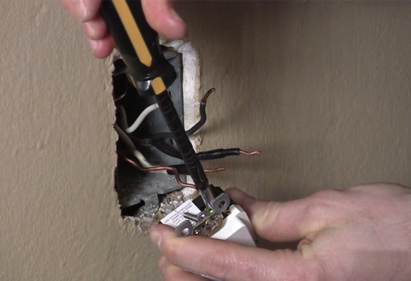 installing gfci receptacle