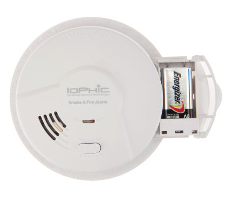 iophic smoke alarms photoelectric detection