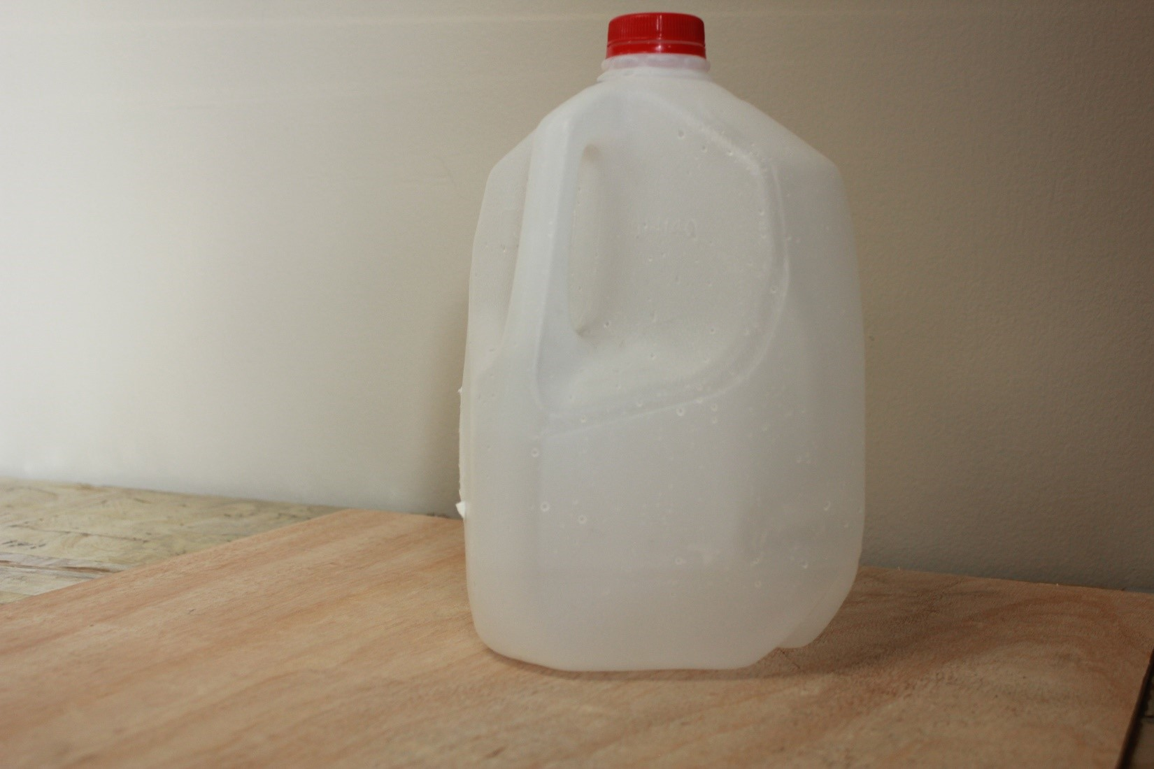 milk jug diy lantern