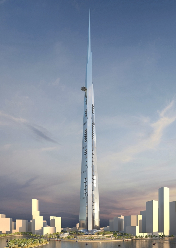 tallest tower in the world Jeddah Tower