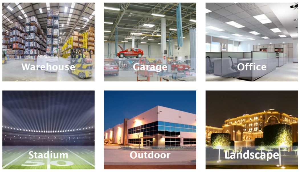 commercial lighting application