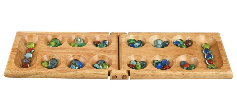 mancala game with marbles