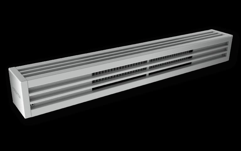 mini architectural baseboard heaters
