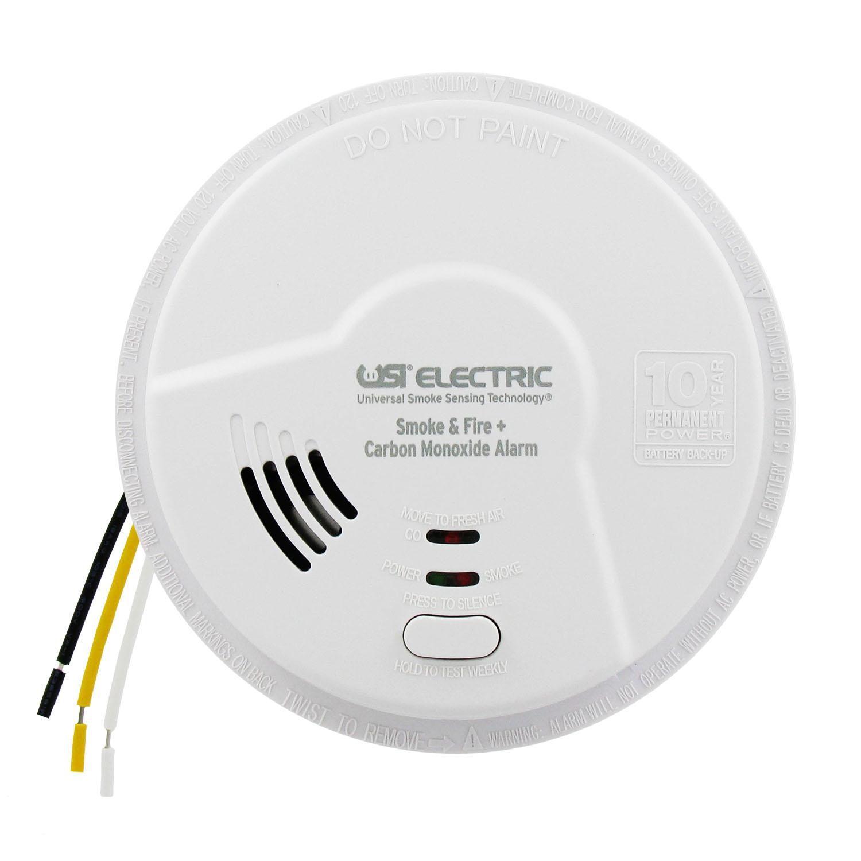carbon monoxide detector alarms