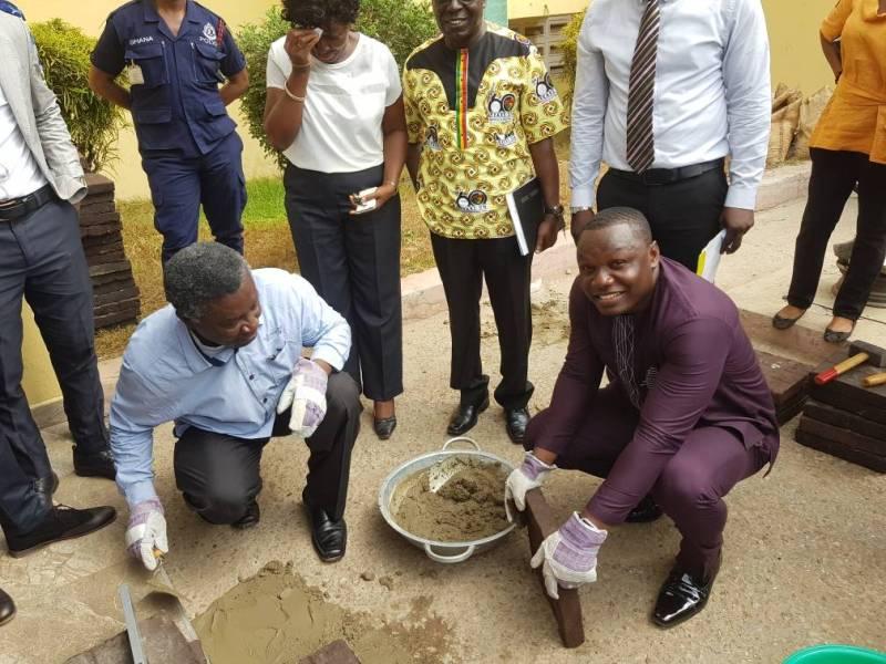 Nelson Boateng Ghanaian network engineer for Nelplast