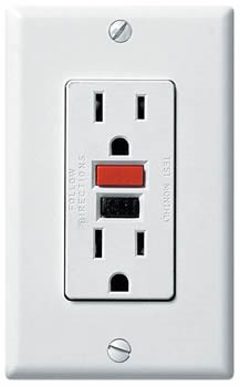 The Difference Between A Gfci Receptacle A Gfi Outlet