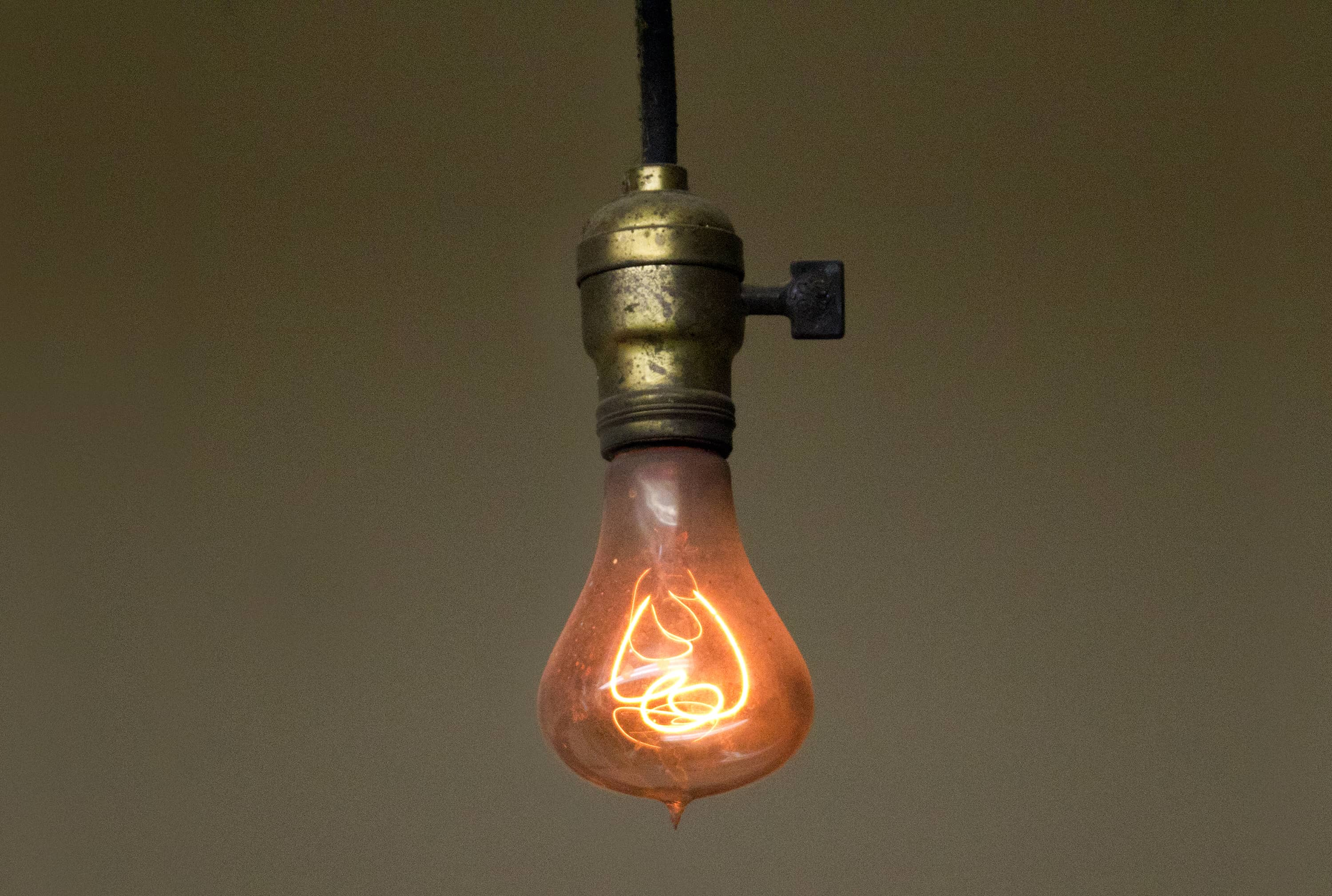 oldest light bulb