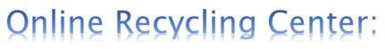 online recycling centers