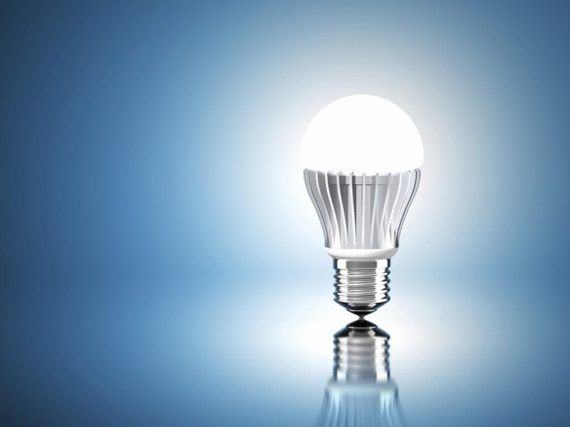 optical components of LED light bulbs