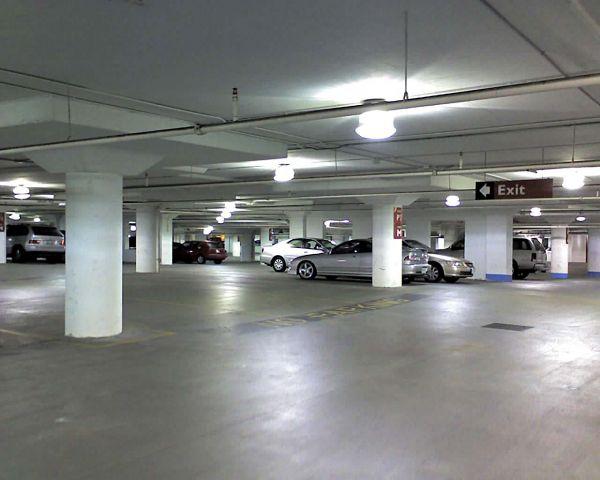 parking garage LED low bay light fixtures