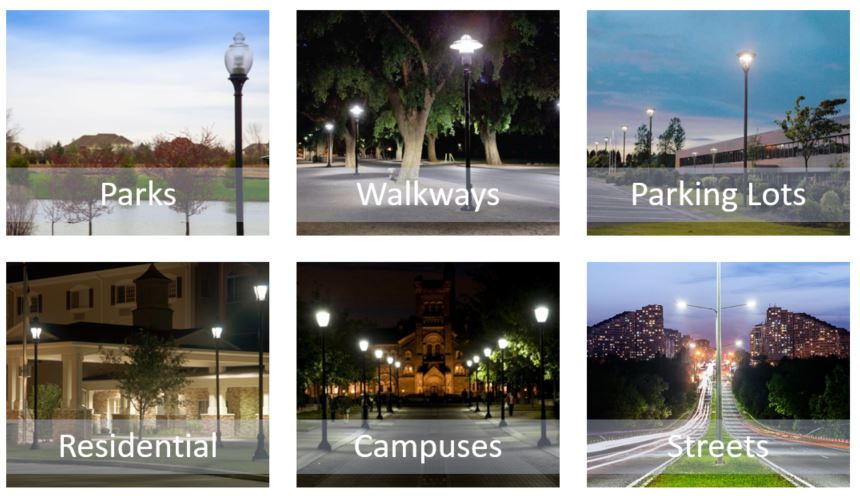 post top lighting locations