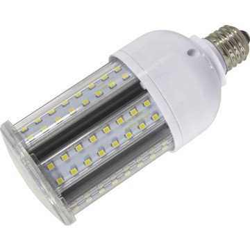 LED corn bulb post top light