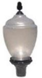 Acorn post light fixture