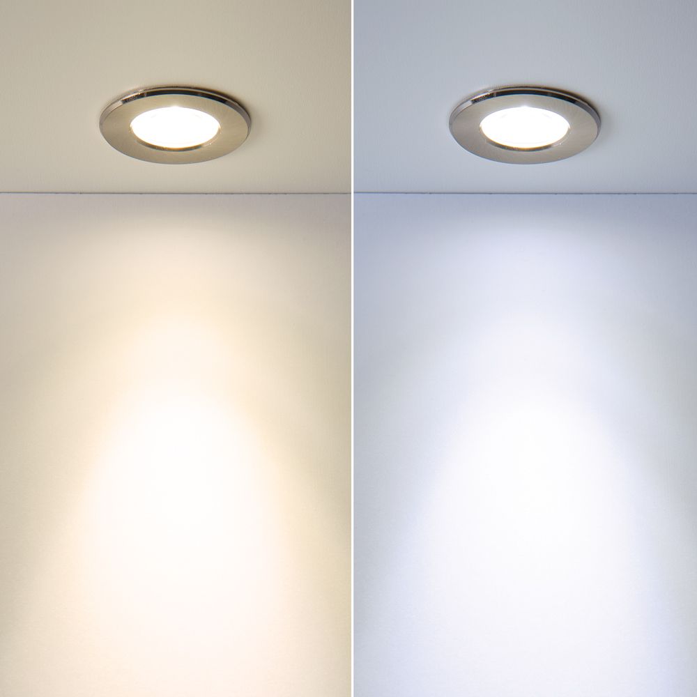 recessed downlight fixtures color temperature