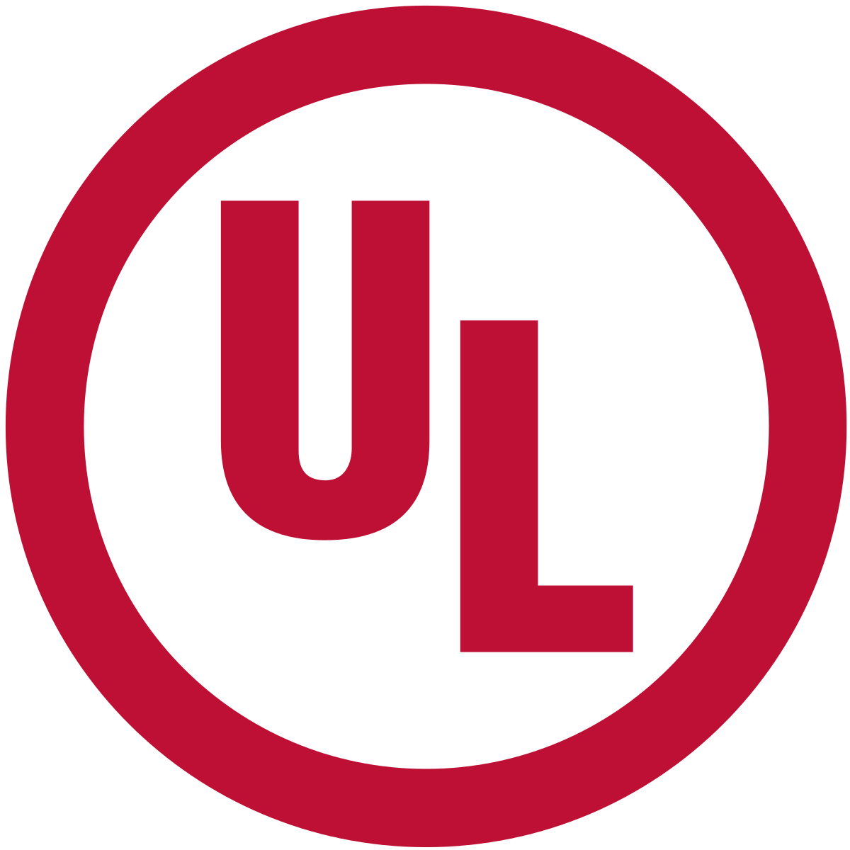 red ul label