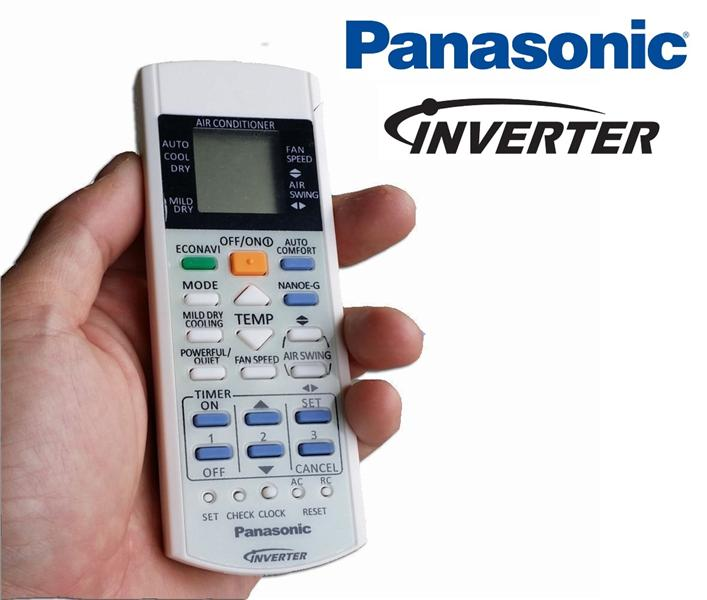 Panasonic heat pump and air conditioner inverter remote