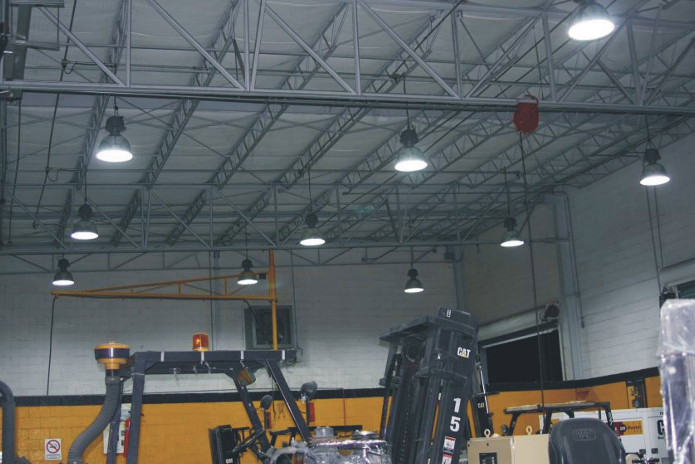 retrofitting warehouse lights to LED high bay
