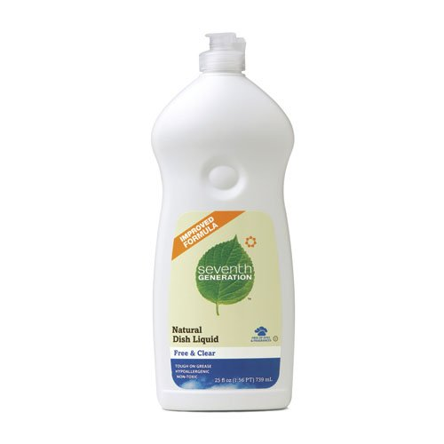 Seventh generation dishwashing cleaner
