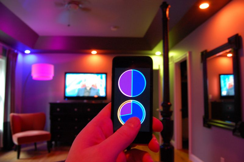 smart led tunable lighting with speaker