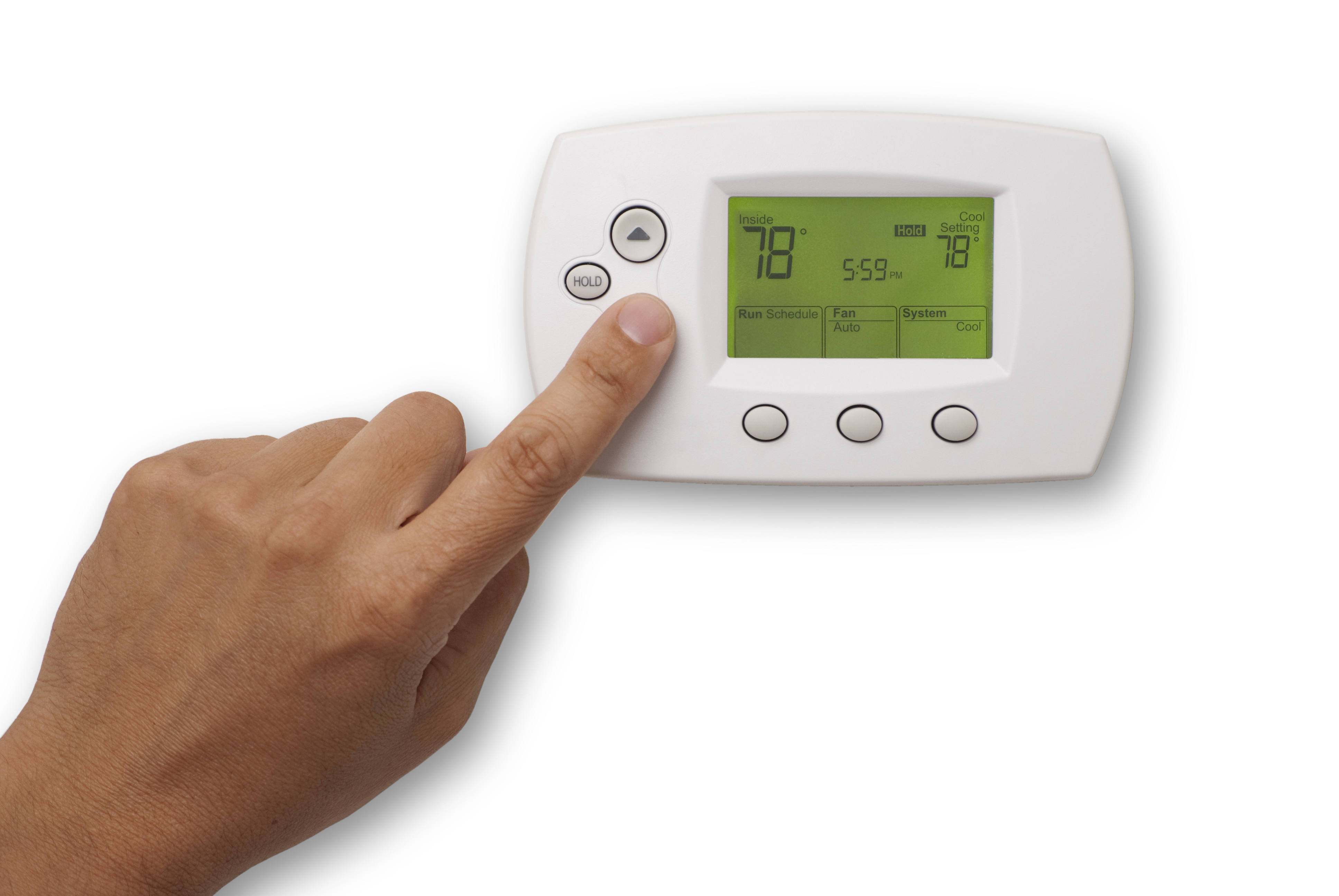 keep thermostat at 78 degrees in summer