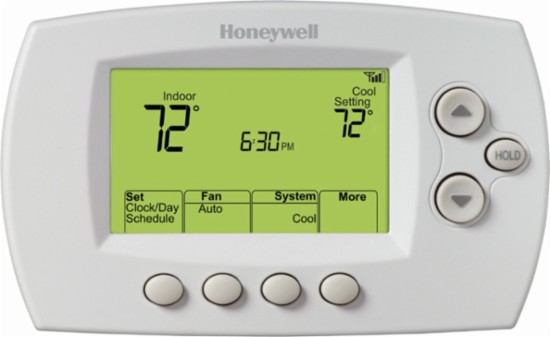 hvac temperature control thermostat