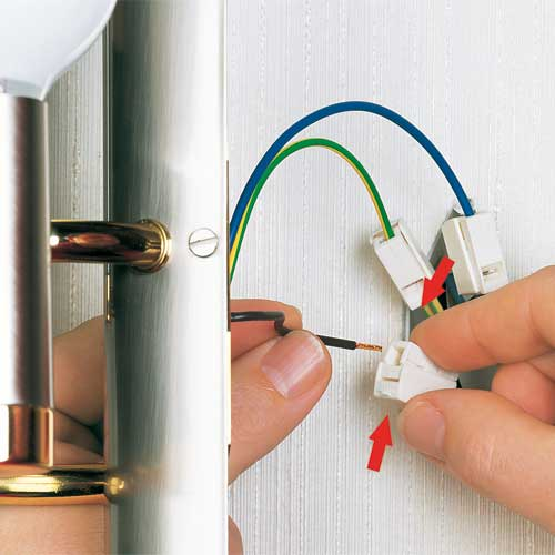 using wago connectors for electrical wiring