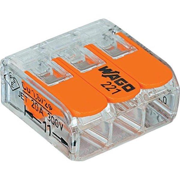 Wago see through compact connector