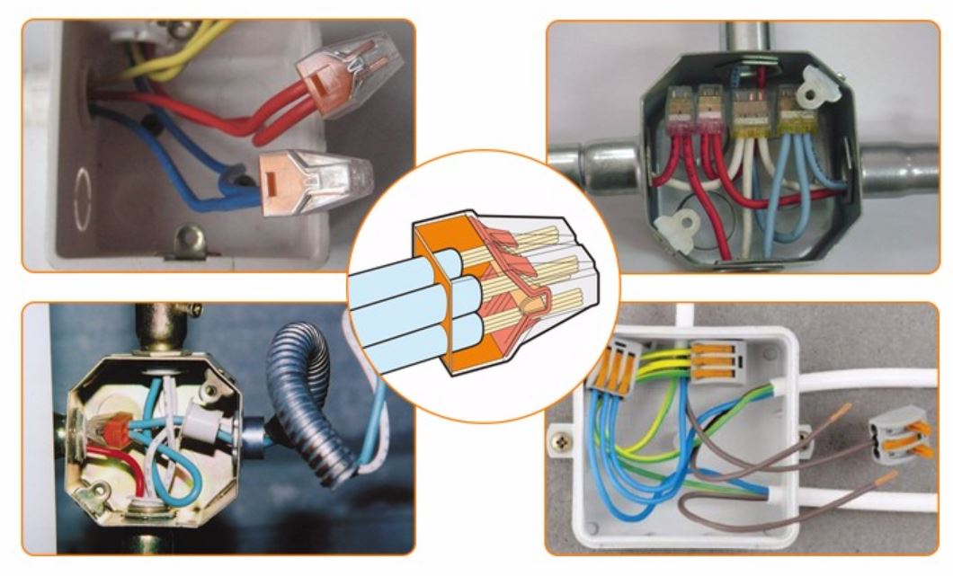 wago connector installation