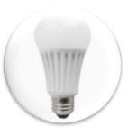 led light bulb base shape and size