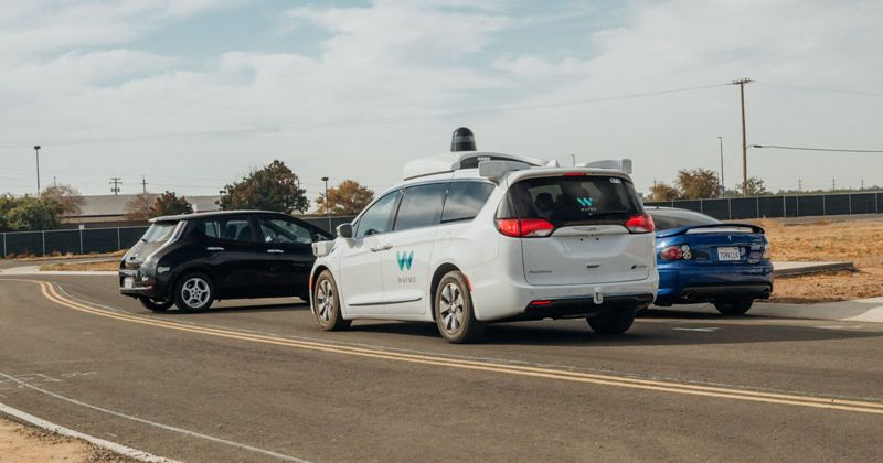 waymo driverless robot car