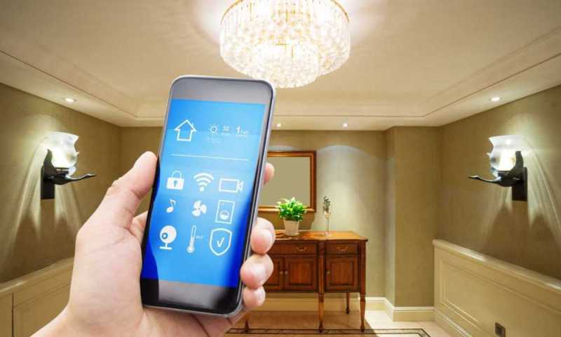 wireless remote-control lighting