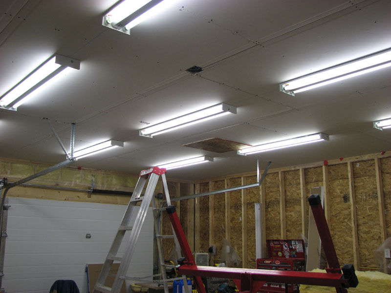 LED shop work lights