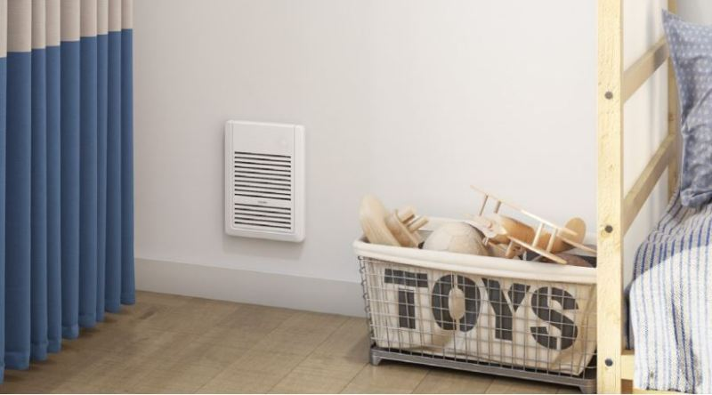 Sanoma wall heater in home