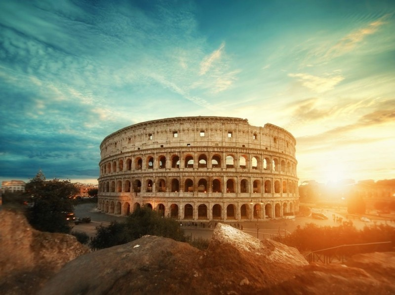 The Colosseum, Italy