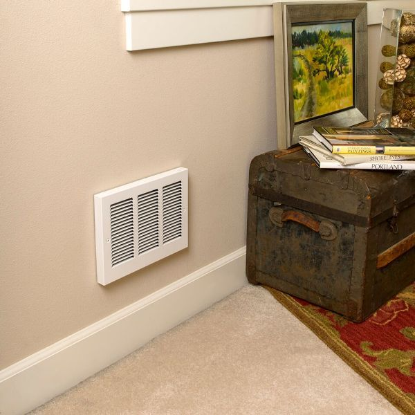 Wall mounted wall heater