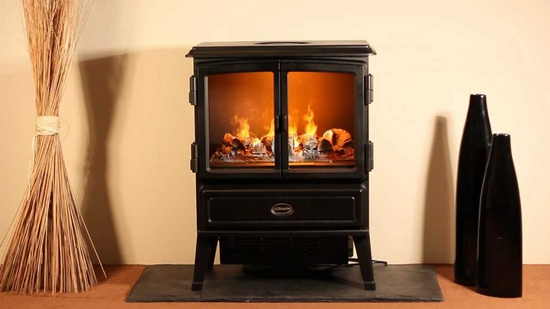Dimplex electric fireplace heater