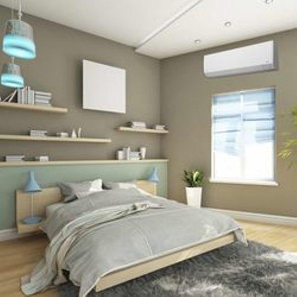 ductless in bedroom