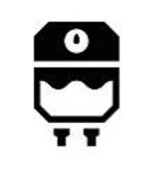 Hydronic heater symbol